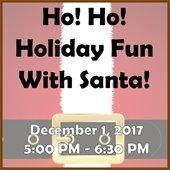 Ho! Ho! Holiday With Santa