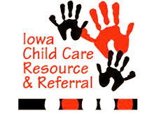 Iowa Child Care Resource and Referral logo